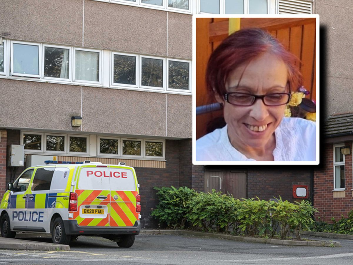 Jomaa Jerrare, inset, lived at Hampton View in Heath Town. Photo: SnapperSK