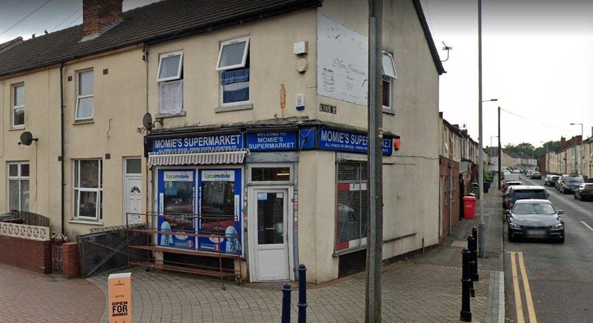 Momie's Supermarket in Dudley Road, Wolverhampton. Photo: Google