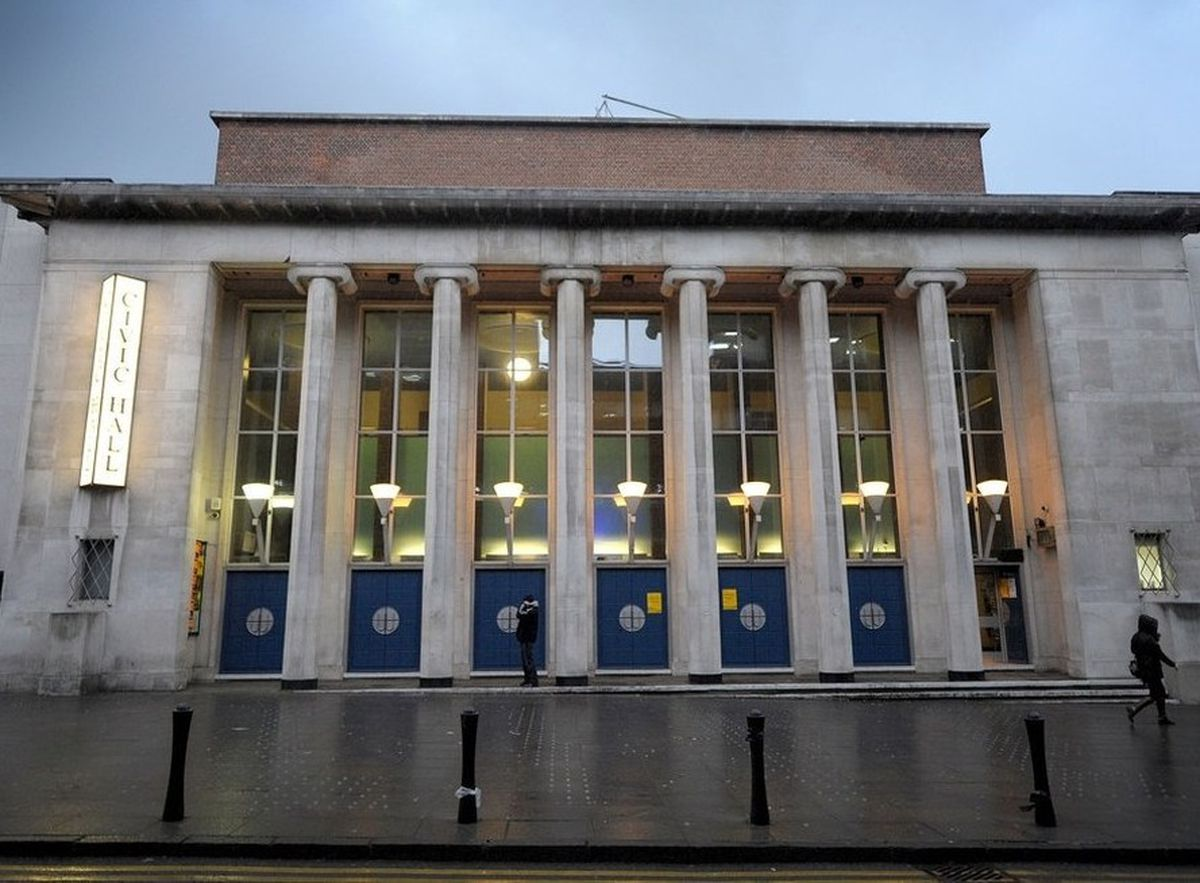 Wolverhampton Civic Hall has been undergoing a major refurbishment