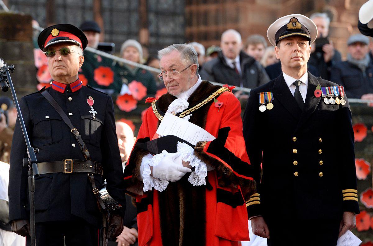 Remembrance Service in Wolverhampton