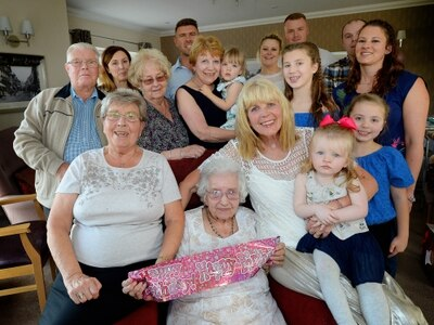 Fantastic Florence celebrates her 103rd birthday