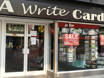 A Write Card reopening Walsall and Halesowen shops after liquidation woe