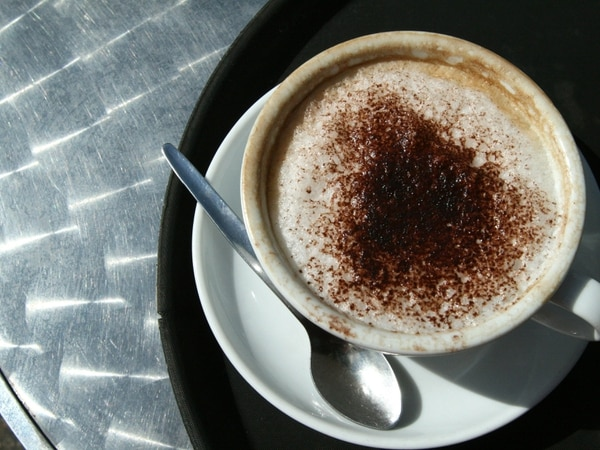 Mark Andrews on Saturday: Since when has coffee been a treat?