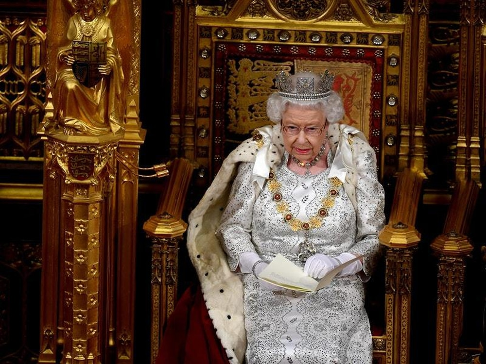 As Brexit day looms, Queen reiterates Britain's commitment to leave EU