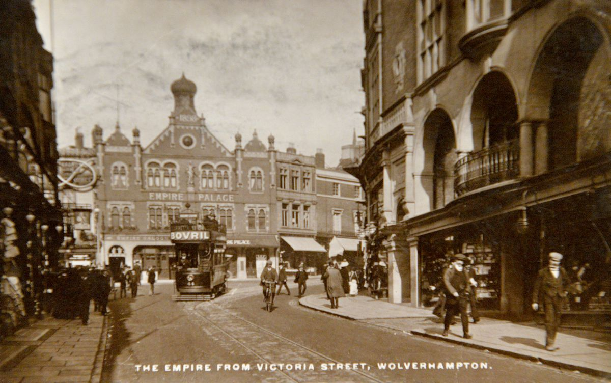 A postcard of Wolverhampton from the early 1900s
