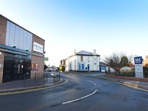 A man was assaulted outside Fever nightclub in Cannock, which is opposite the police station