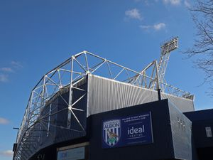 Exterior GV / general view of the corner of the Birmingham Road stand at The Hawthorns, the home stadium of West Bromwich Albion. (AMA)