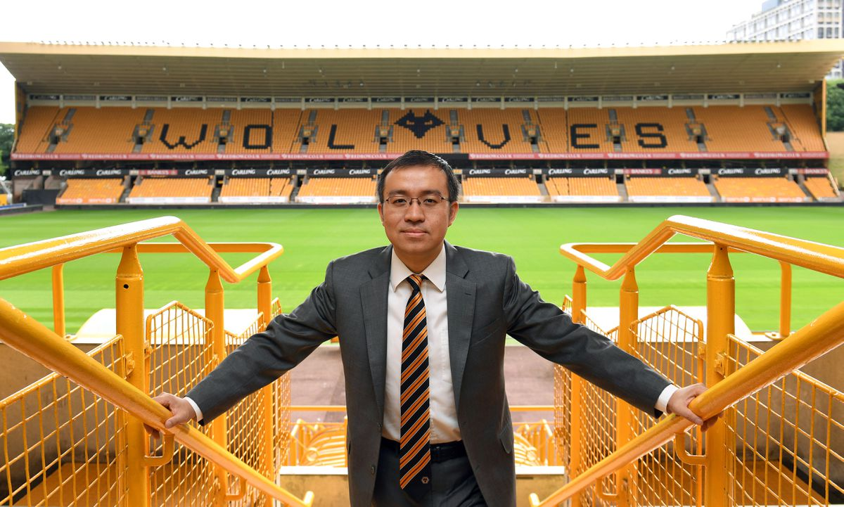 Jeff Shi is now executive chairman at Wolves (© AMA SPORTS PHOTO AGENCY)
