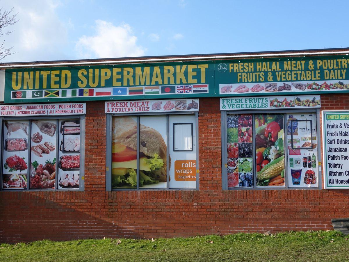 United Supermarket in Park Village, Wolverhampton