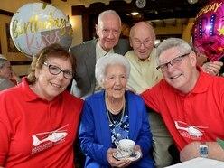 Staffordshire woman celebrates turning 104
