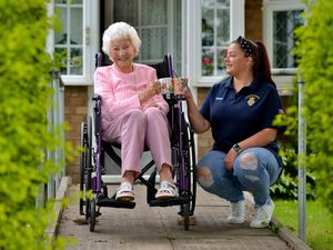Former nurse Ethel Lote, 99, has become friends with trainee mental health nurse Grace Anderton, 27, through a telephone scheme