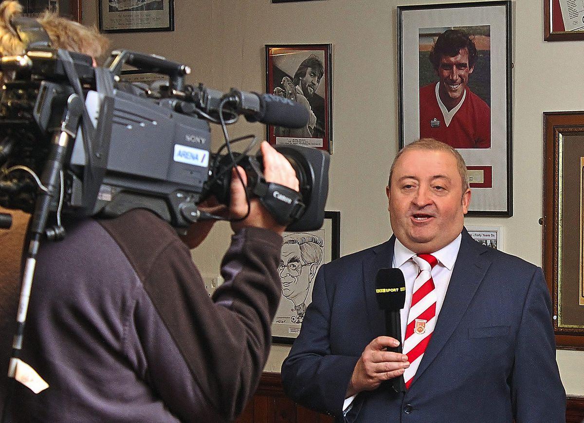 Stourbridge chairman Andy Pountney