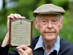 Small plaque honours big war effort shown by town