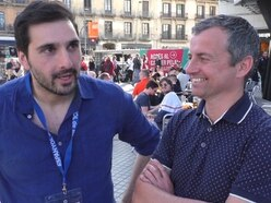 Wolves fans in Barcelona: Sky Sports' Johnny Phillips and Nathan Judah on Euro tour - WATCH