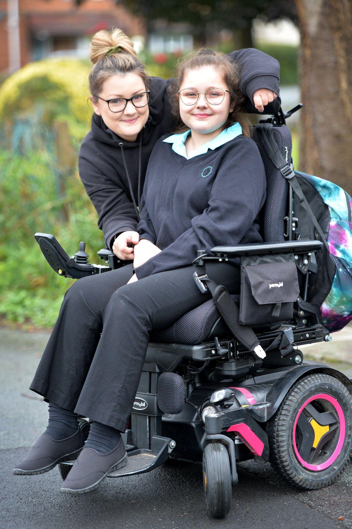 Heidi and mum Katie