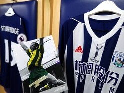 West Brom raise more than £11,000 for charity with Cyrille Regis shirt auction