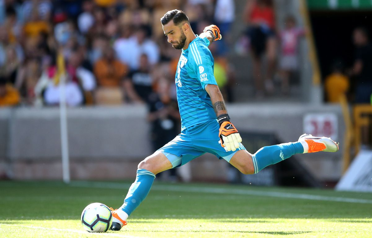 Rui Patricio will not wear the number one shirt, in honour of Carl Ikeme.