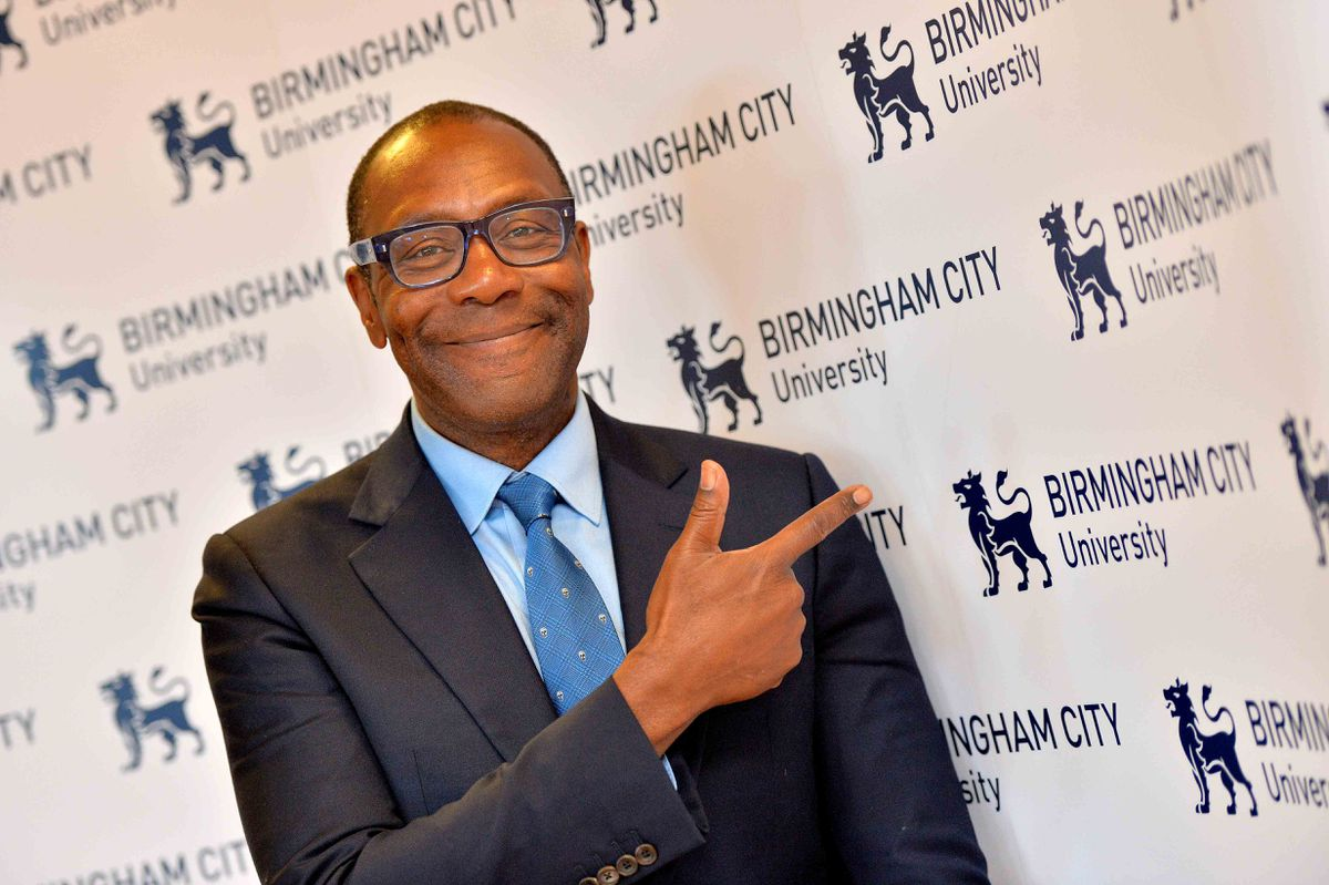 Sir Lenny Henry is Chancellor of Birmingham City University