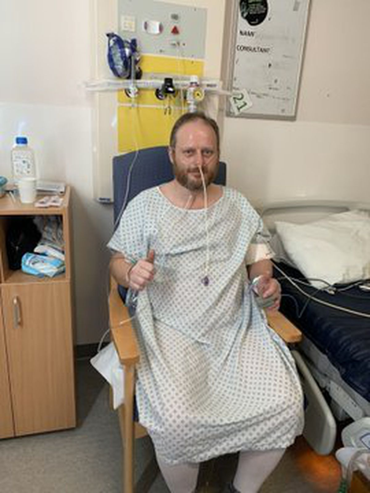 He battled Covid-19, spending nearly a fortnight in intensive care
