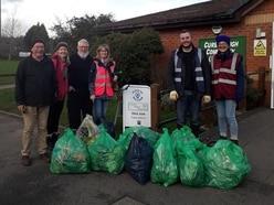 Litter Legends clean up Lichfield