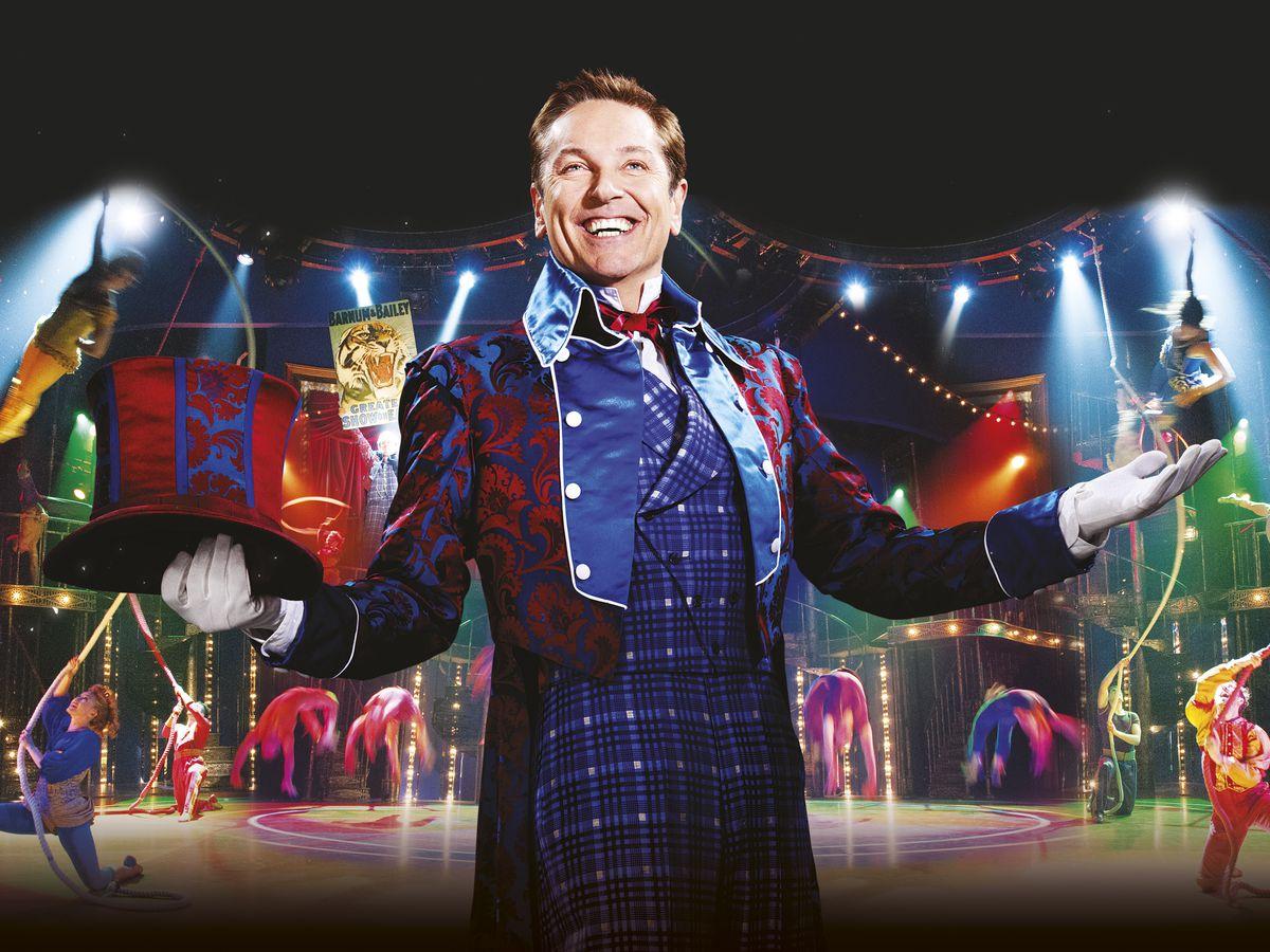 The professional showman – Brian starred in Barnum
