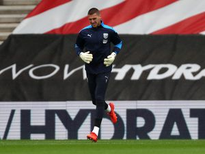 Sam Johnstone of West Bromwich Albion during the pre-match warm up. (AMA)