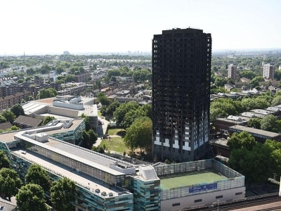 Forty Grenfell households still in hotels more than year on from blaze