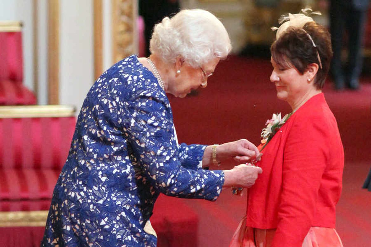 Stafford Hospital campaigner Julie Bailey receives honour from Queen