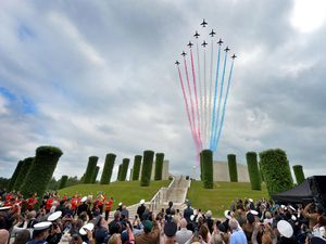 STAFFS COPYRIGHT EXPRESS AND STAR STEVE LEATH 26/06/2021..Pic at the National Memorial Arboretum in Alrewas, Armed Forces Day Events..
