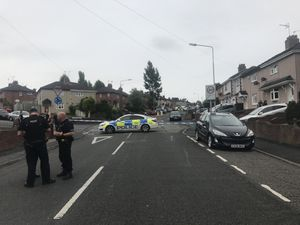 Wrens Nest Road closed after motorcyclist injured in crash