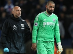 West Brom keeper crisis: Boaz Myhill has minor hamstring strain but Ben Foster making encouraging progress
