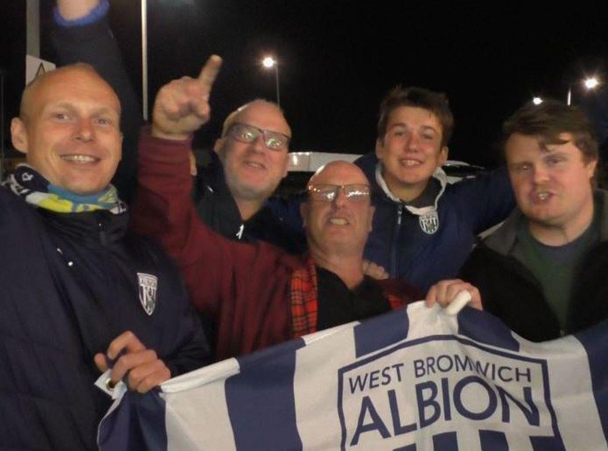 Albion fans spoke with Luke Hatfield.