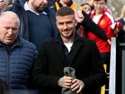 Watch: Salford player scores long-range wonder goal with David Beckham watching