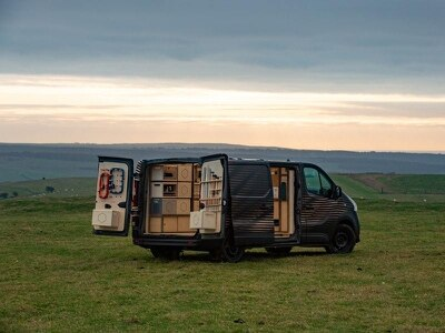 Nissan showcases NV300 Concept-van