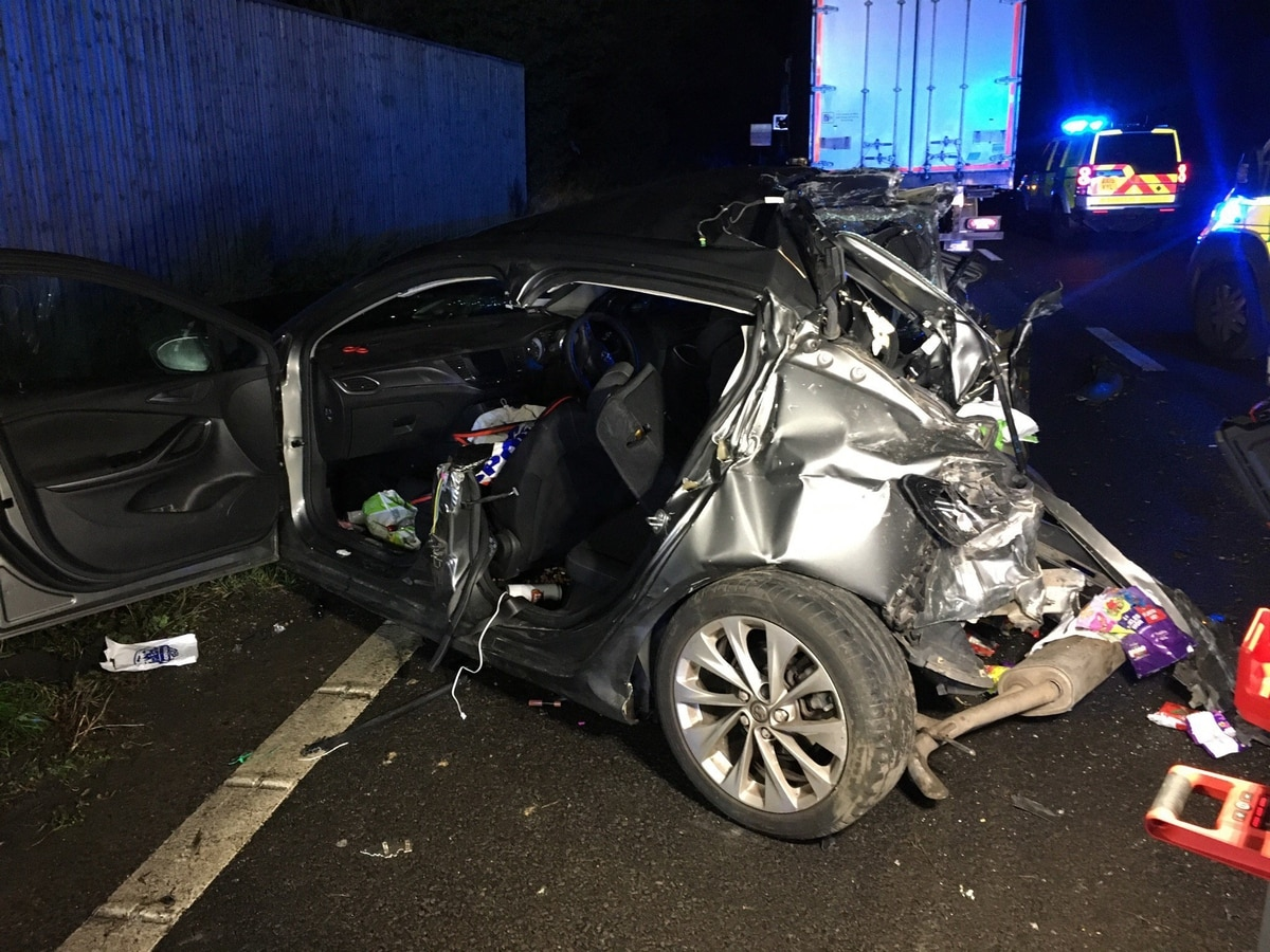 All Star Driver Education >> Woman seriously injured after M6 crash between car and lorry | Express & Star