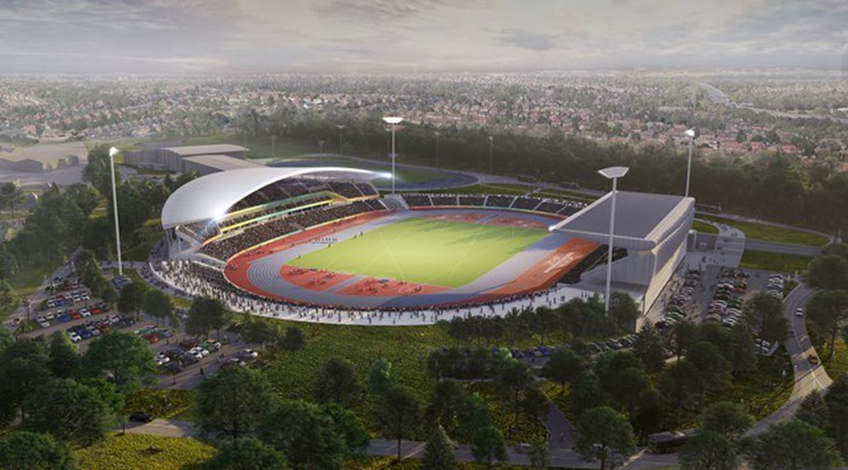 How Alexander Stadium will look