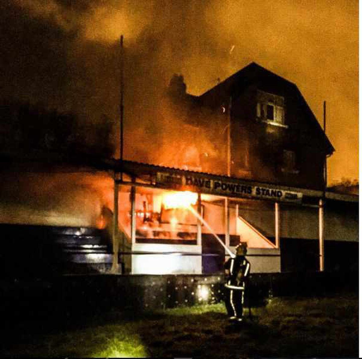 The recent blaze Photo: @wayne_official.uk via Instagram
