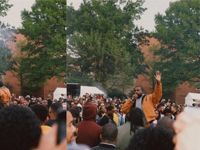 Kanye West surprises students at Howard University with pop-up Sunday Service