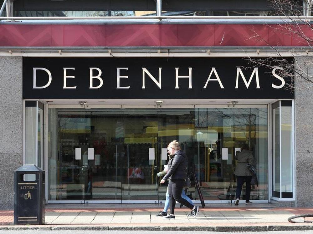 Debenhams to start closing stores with loss of 1,200 jobs