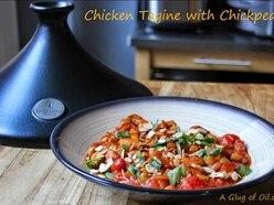 Chicken tagine with chickpeas