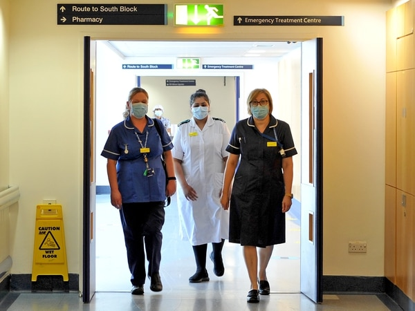 Anxiety, exhaustion and six deaths a shift: Fighting coronavirus at Russells Hall Hospital
