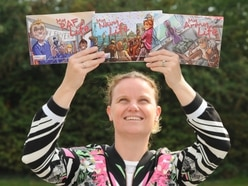 Military wife's delight with complete children's book series