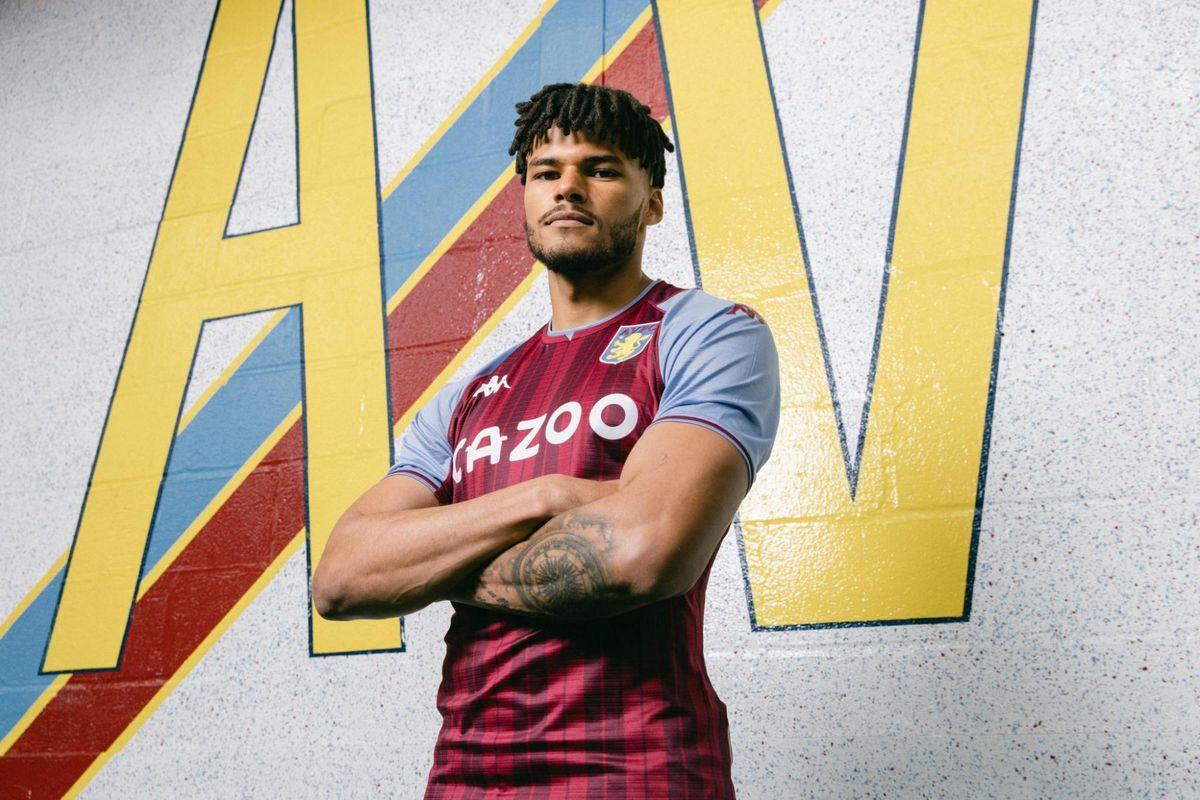 Villa's new 2021/22 home kit.