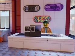 Snapchat augmented reality turns empty store into virtual Lego shop