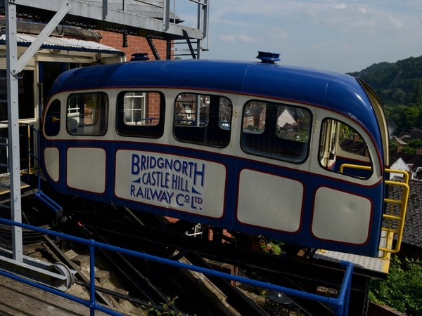 Bridgnorth's Cliff Railway to close for engineering work