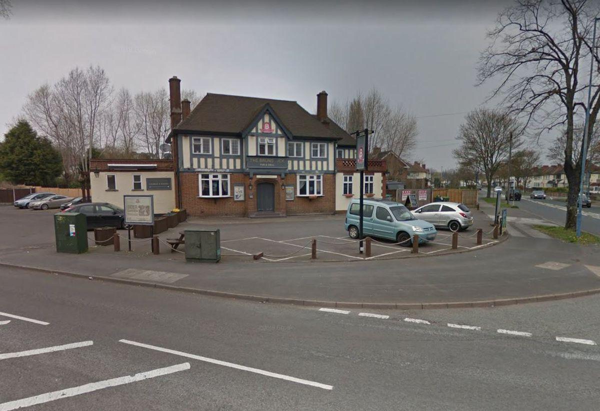 The Brunswick Inn, in Crankhall Lane, Wednesbury. Image: Google