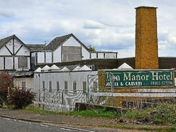 Eyesore hotel being demolished to make way for barn-style homes