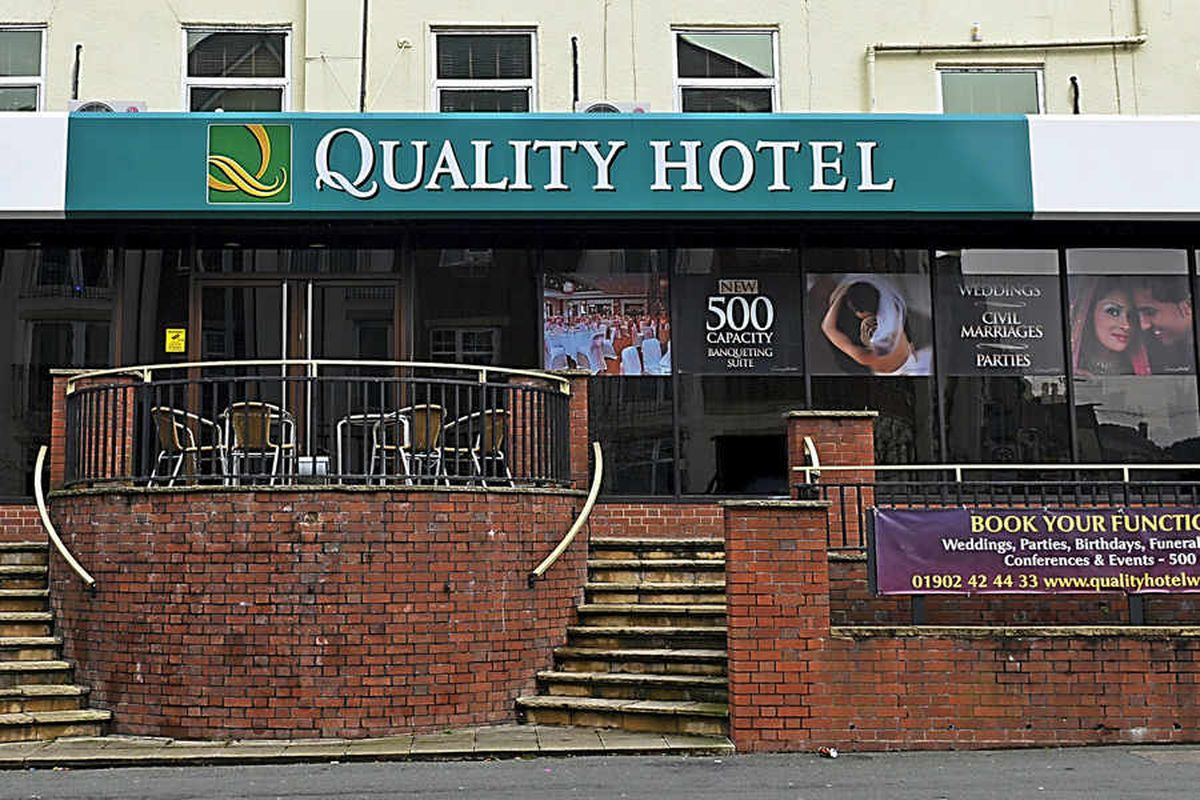 The Quality Hotel, formerly known as The Connaught, on Tettenhall Road