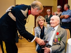 Celebrations for Albrighton D-Day veteran Bill - with pictures