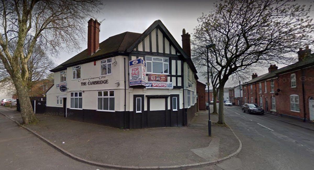 The former Cambridge public house in Cambridge Street, Walsall. Photo: Google